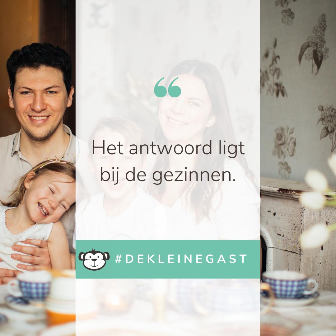 Een kindvriendelijk restaurant vind je in de app van De Kleine Gast